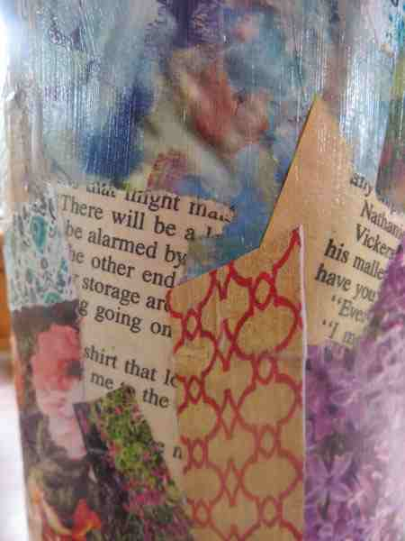 close-up-decoupage-wine-bottle