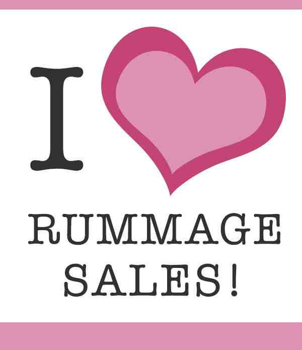 church rummage sales