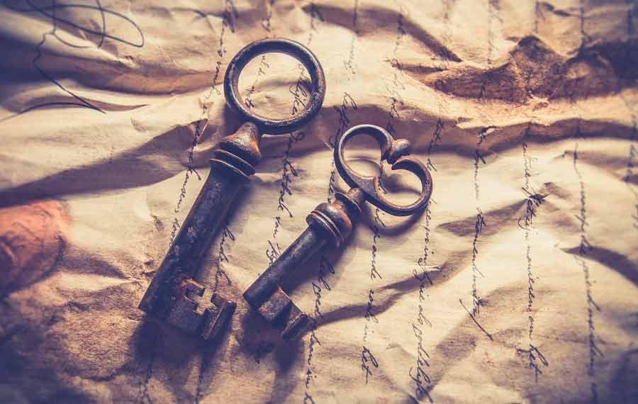 vintage key types