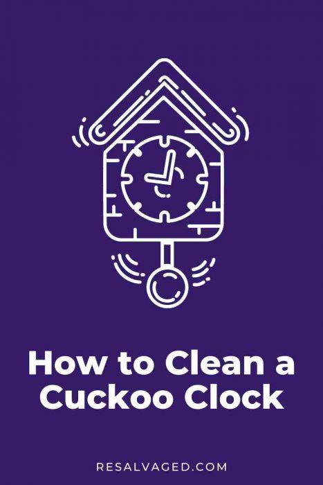 clean a cuckoo clock